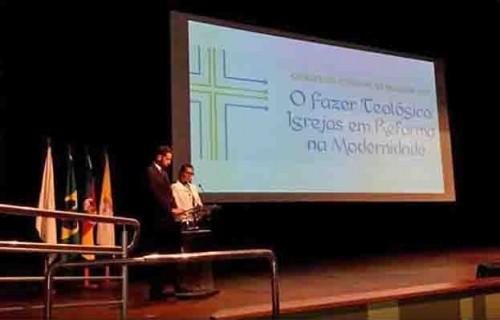 Iniciou o Congresso Estadual de Teologia 2017