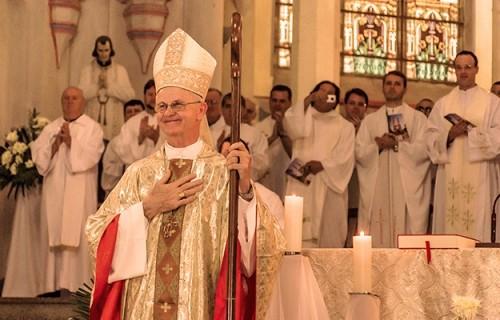 Dom Aloísio: toma posse como Bispo de Santa Cruz do Sul