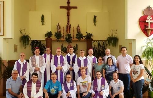 Província de Santa Maria se reúne no Santuário de Caaró