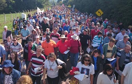 Romaria da Santa Cruz: momento forte de unidade e de fé