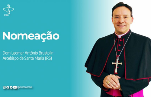Papa Francisco nomeia Dom Leomar Brustolin como Arcebispo da Arquidiocese de Santa Maria