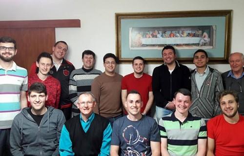 Seminaristas da Diocese confraternizam com seminaristas da Diocese de Caxias do Sul