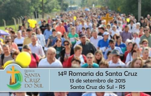 Participe da 14ª Romaria da Santa Cruz