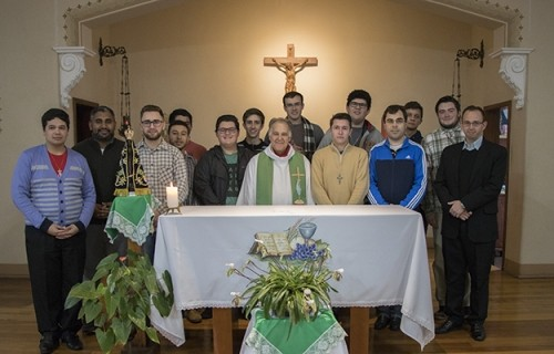 Seminaristas Propedeutas finalizam retiro espiritual