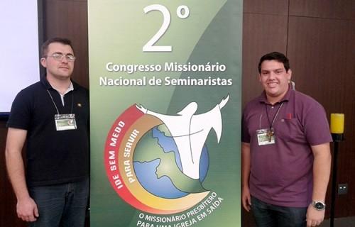 Seminaristas participam do 2º Congresso Missionário Nacional de Seminaristas