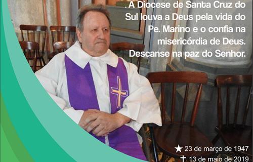 Diocese se despede do Pe. Marino