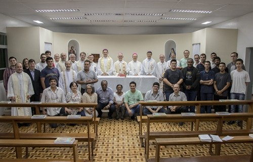 Província de Santa Maria confraterniza com seminaristas