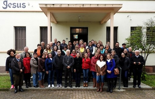 Secretárias das Paróquias se encontram em Arroio do Meio
