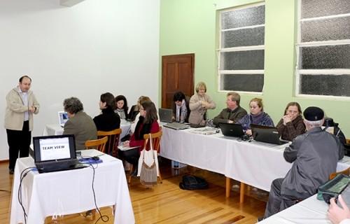 Formação para o uso do site em Santa Cruz do Sul