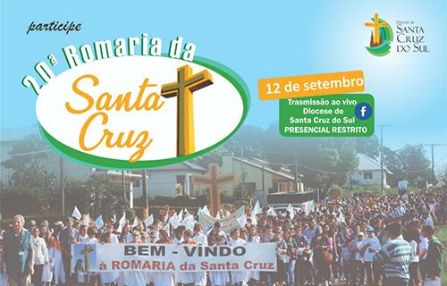 Romaria  da Santa Cruz clama por fim da Pandemia