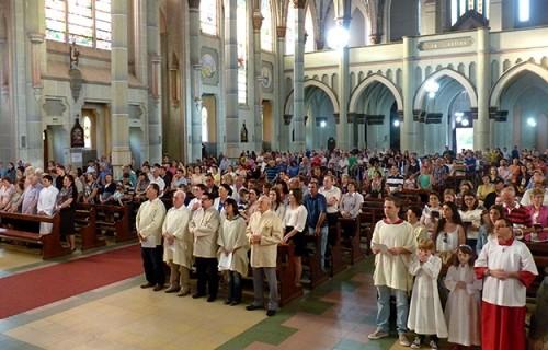 Missa na Catedral marca os 65 anos da Diocese de Santa Cruz do Sul