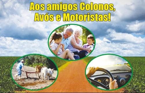 Colonos, Avós e Motoristas: Que bom que vocês existem!