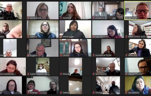 Coordenação de Pastoral reúne Secretárias das Paróquias