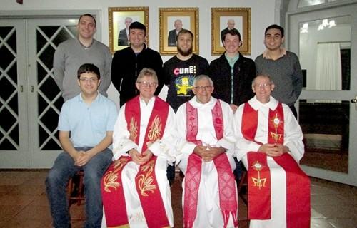 Visita da Coordenação Diocesana de Pastoral