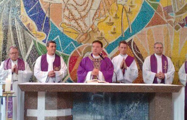 Seminaristas participam da abertura do Ano Letivo na PUCRS