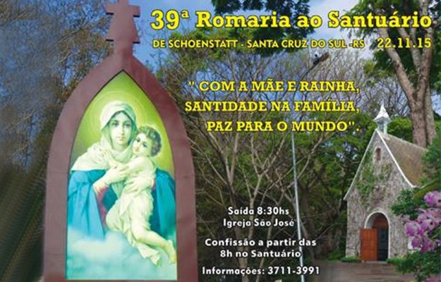 39ª Romaria ao Santuário de Schoenstatt
