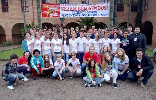 Paróquia Santo Inácio de Lajeado promove retiro de jovens
