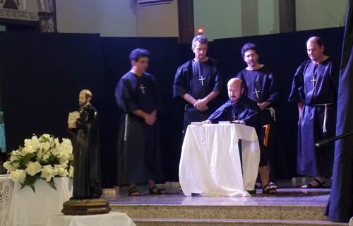 Celebração de  Santo Inácio de Loyola