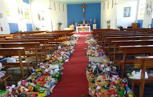 Celebrações de Corpus Christi são marcadas por gestos de caridade