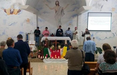 Celebração inter-religiosa pela Paz