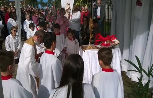 Celebração Corpus Christi