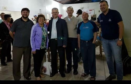 Encontro de Lideranças Vocacionais na Paróquia Santa Catarina